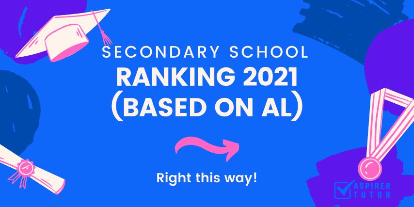 sg secondary school ranking 2021